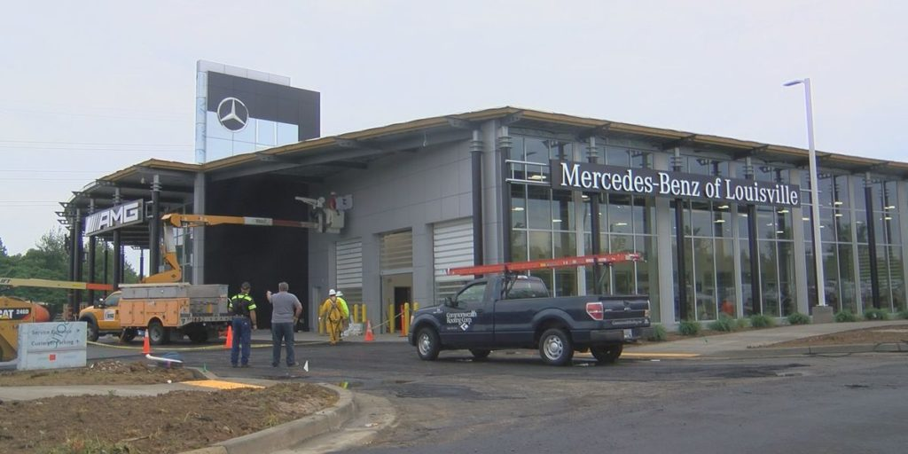 Car Dealerships Louisville Ky >> Project Profile: Mercedes-Benz of Louisville | Ryan Fireprotection